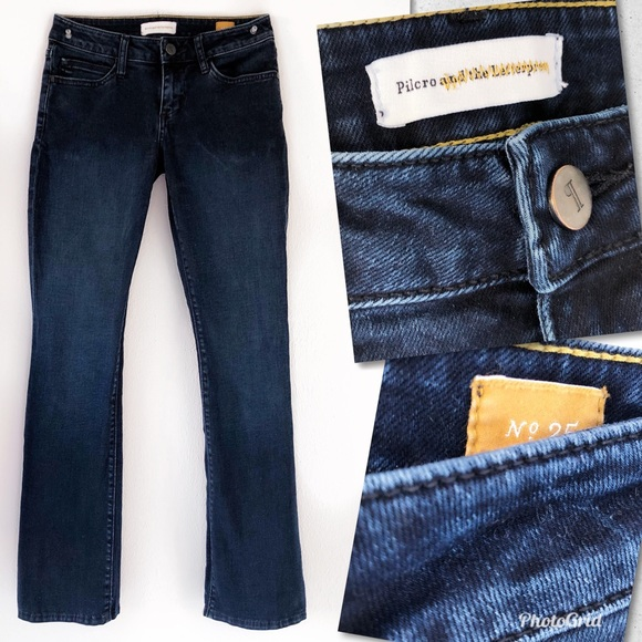 Pilcro and the Letterpress Denim - ANTHROPOLOGIE PILCRO AND THE LETTERPRESS JEANS 25